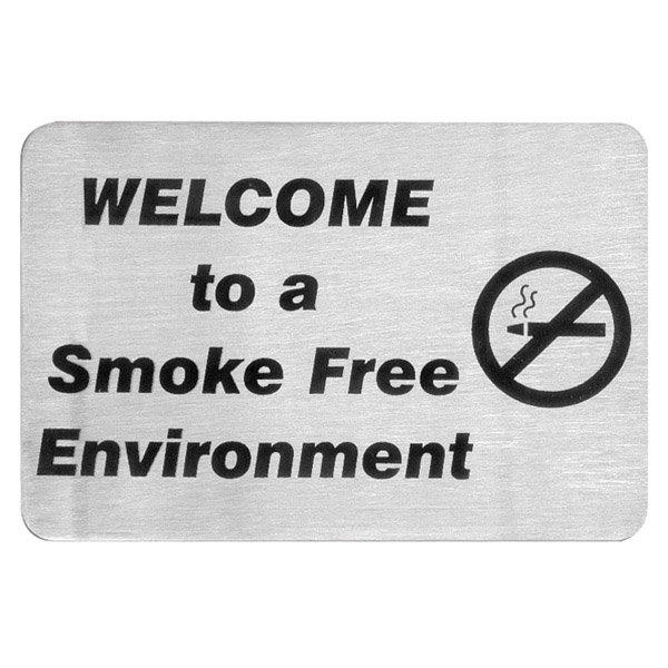 Smoke Free Environment Sign