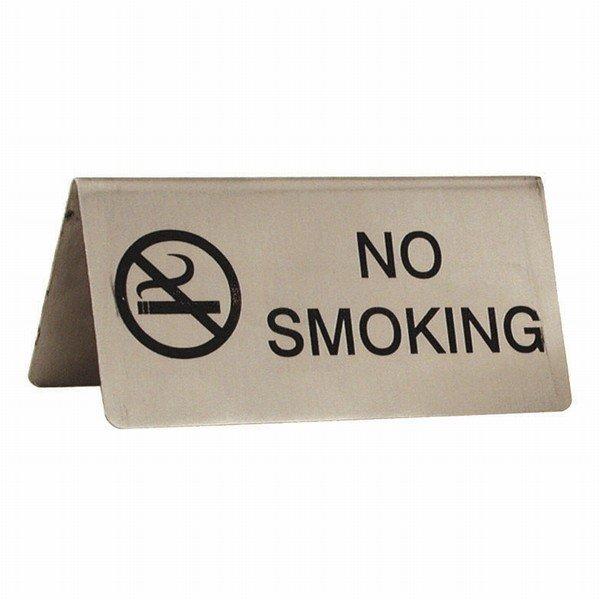 No Smoking Tent Table Sign