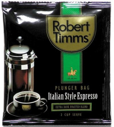 Robert Timms Plunger Coffee Bags (50 portions)