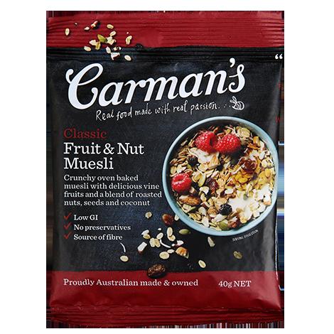 Carman's Classic Fruit & Nut Muesli (10 units)