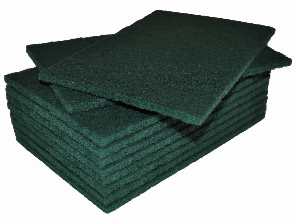 Green Scotch-Brite Scourer Pads
