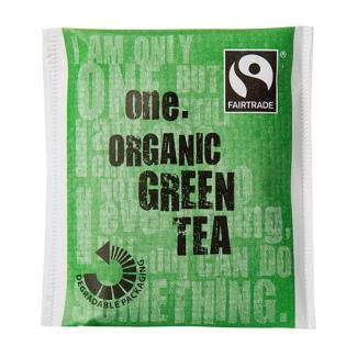 One Fairtrade Organic Green Tea