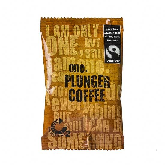 One Fairtrade Plunger Coffee 15gm