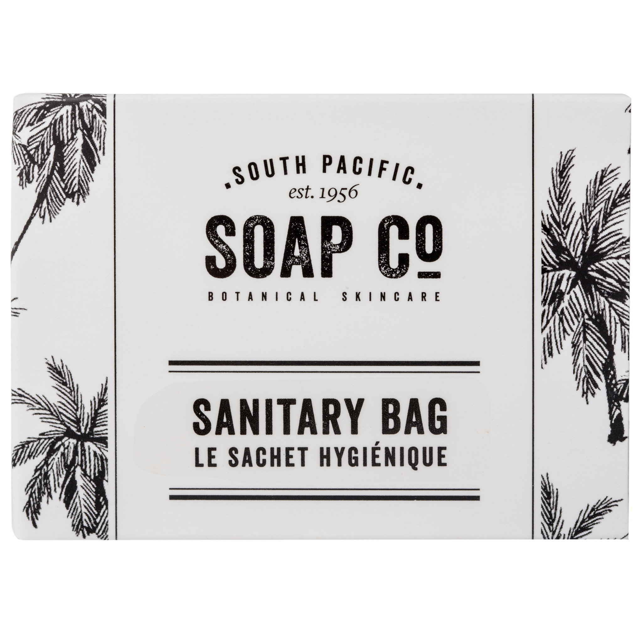 South Pacific Soap Co Sanitary Bag