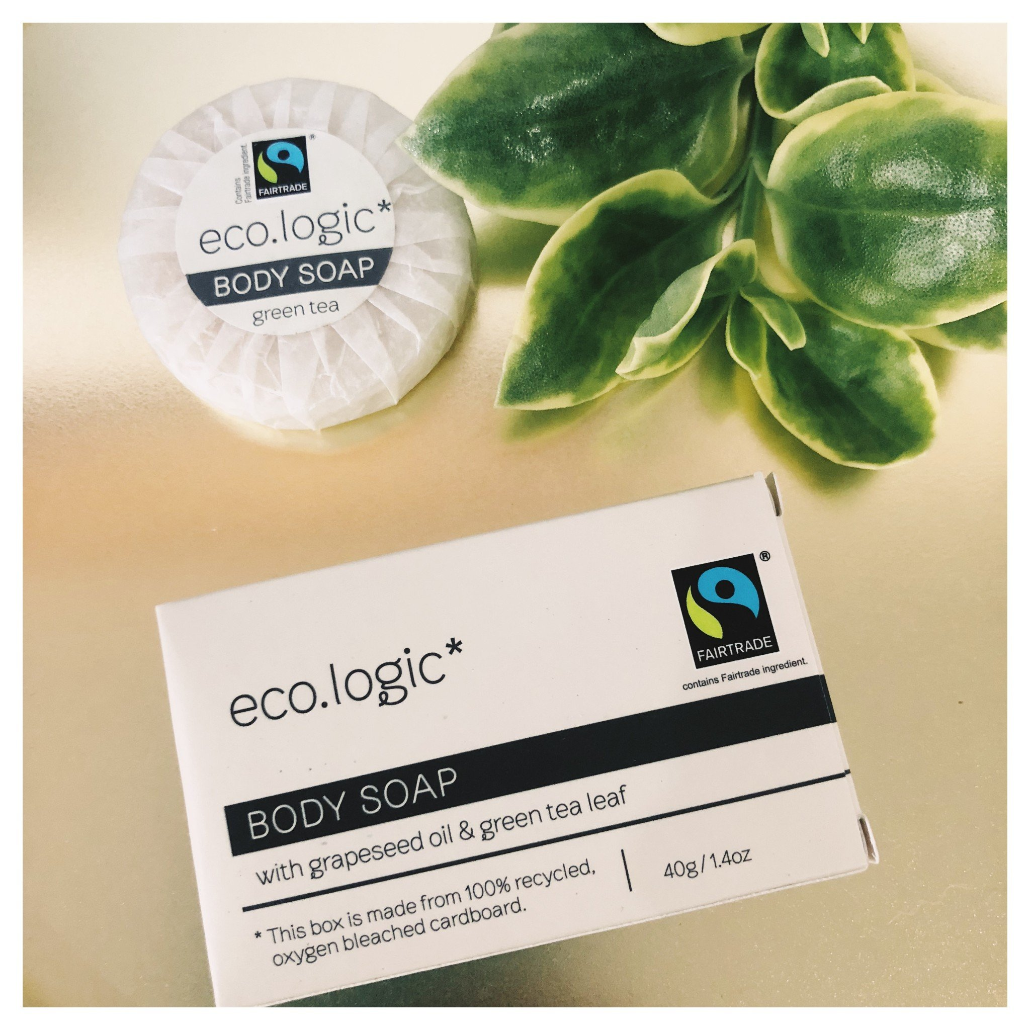 eco.logic Fairtrade Soap 20g