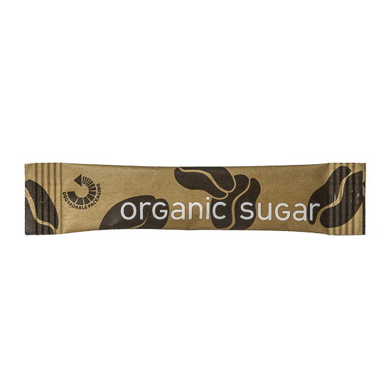 Cafe Style Organic Sugar Sticks