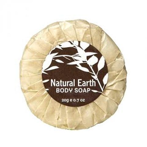 Natural Earth 20g Pleat-wrapped Soap